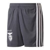 17-18 Benfica Away Gray Jersey Short