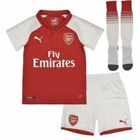 17-18 Arsenal Home Children's Jersey Whole Kit(Shirt+Short+Socks)