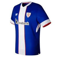17-18 Athletic Bilbao Third Away Blue&White Jersey Shirt