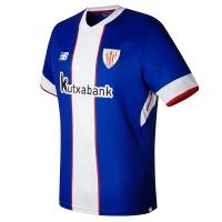 17-18 Athletic Bilbao Third Away Blue&White Jersey Shirt