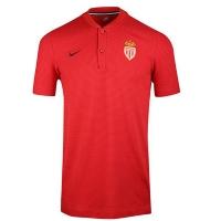 AS Monaco FC Grand Slam Polo Shirt-Red