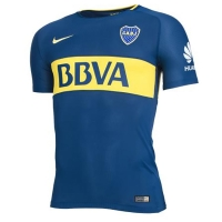 17-18 Boca Juniors Home Soccer Jersey Shirt