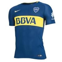 17-18 Boca Juniors Home Soccer Jersey Shirt