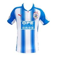 17-18 Huddersfield Town Home Soccer Jersey Shirt