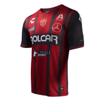 17-18 Club Necaxa Away Red&Black Jersey Shirt