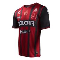 17-18 Club Necaxa Away Red&Black Jersey Shirt