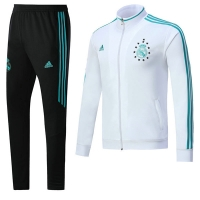 17-18 Real Madrid White Training Kit( Jacket+Trouser)