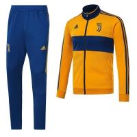 17-18 Juventus Yellow Training Kit(Jacket+Trouser)