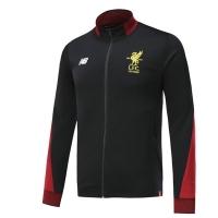 17-18 Liverpool Black Training Jacket