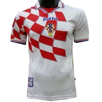 1998 Croatia Home Retro Jersey Shirt