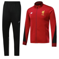 17-18 Liverpool Red Training Kit(Jacket+Trouser)