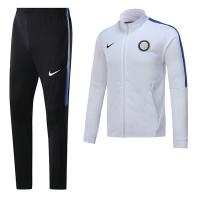 17-18 Inter Milan White Training Kit(Jacket+Trouser)
