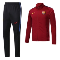 17-18 Barcelona Deep Red Training Kit(Jacket+Trouser)