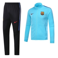 17-18 Barcelona Blue Training Kit(Jacket+Trouser)