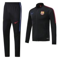 17-18 Barcelona Black Training Kit(Jacket+Trouser)
