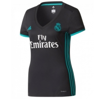 17-18 Real Madrid Away Black Women's Jersey Shirt