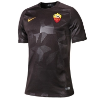 17-18 Roma Third Away Brown Soccer Jersey Shirt
