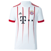 17-18 Bayern Munich Away White Jersey Shirt(Player Version)
