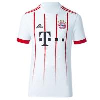 17-18 Bayern Munich Away White Jersey Shirt(Player Version)