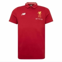 Liverpool Core Polo Shirt-Red
