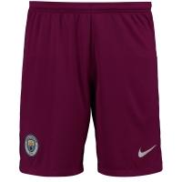 17-18 Manchester City Away Red Jersey Short