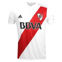 17-18 River Plate Home White Jersey Shirt(Player Version)