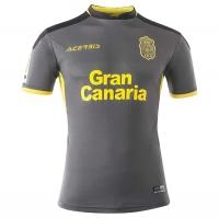 17-18 UD Las Palmas Away Gray Soccer Jersey Shirt