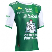17-18 Club León Home Green Jersey Shirt