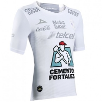 17-18 Club León Away White Green Jersey Shirt
