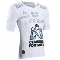 17-18 Club León Away White Green Jersey Shirt