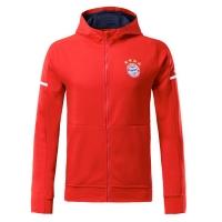 Bayern Munich Red Hoody Jacket