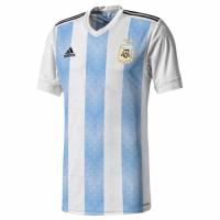 2018 World Cup Argentina Home Soccer Jersey Shirt(Player Version)