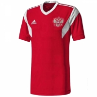 2018 World Cup Russia Home Red Soccer Jersey Shirt