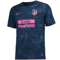 17-18 Atletico Madrid Third Away Green Soccer Jersey Shirt(Player Version)