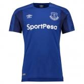 17-18 Everton Home Blue Soccer Jersey Shirt