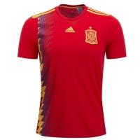 2018 Spain Home Soccer Jersey Shirt