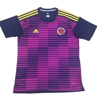 2018 World Cup Colombia Purple Training Jersey Shirt