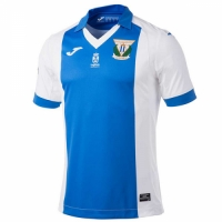 17-18 CD Leganés Home Soccer Jersey Shirt