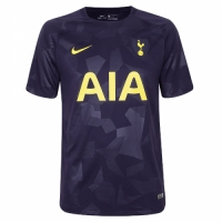 17-18 Tottenham Hotspu Thirdr Away Purple Soccer Jersey Shirt(Player Version)