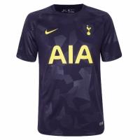 17-18 Tottenham Hotspu Thirdr Away Purple Soccer Jersey Shirt(Player Version)