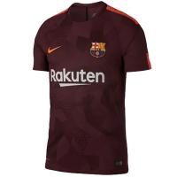 17-18 Barcelona Third Away Brown Soccer Jersey Shirt(Player Version)