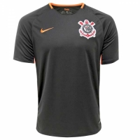 17-18 SC Corinthians Third Away Black Jersey Shirt