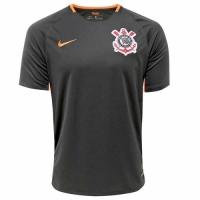 17-18 SC Corinthians Third Away Black Jersey Shirt