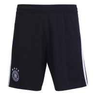 2018 World Cup Germany Home Black Soccer Jersey Short