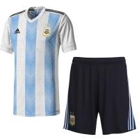 2018 World Cup Argentina Home Jersey Kit(Shirt+Short)
