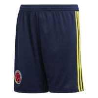2018 World Cup Colombia Home Soccer Jersey Short