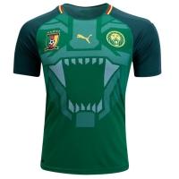 2018 Cameroon Home Green Soccer Jersey Shirt