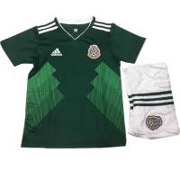 2018 Mexico Home Children's Jersey Kit(Shirt+Short)