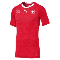2018 World Cup Switzerland Home Red Jersey Shirt