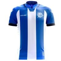 17-18 Deportivo Alavés Home Jersey Shirt